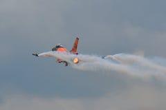 F-16 die Facon bestrijdt Stock Foto