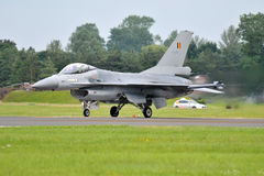F-16 die Facon bestrijdt Royalty-vrije Stock Foto's