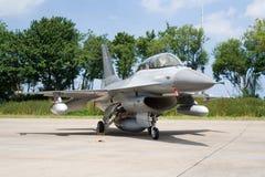 F-16 Dinamarca Fotografia de Stock