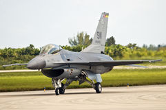 F-16 Falcon Fighter Jet Stock Photography