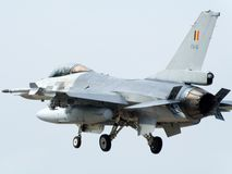 F-16 fighter Stock Images