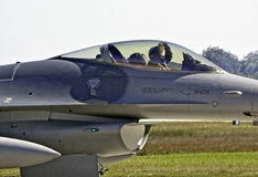 F-16 Fighter Royalty Free Stock Photos