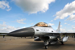 F 16  fighter Royalty Free Stock Photo