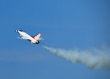 Free F-16 Fighter Jet Climbing Stock Photography - 2379992