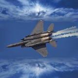 F-16 het Vechten Valk Royalty-vrije Stock Foto
