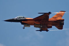 F-16 hollandais Photos stock