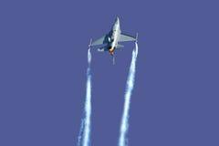 F-16 manifestatie stock afbeeldingen