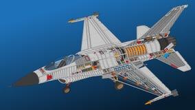 F-16, Military, Aircraft, Air Royalty Free Stock Photo