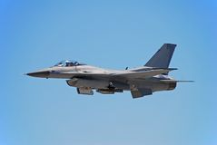 F-16 modern jetfighter Royalty Free Stock Images