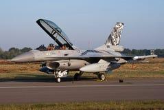 F-16 norvégien Images libres de droits