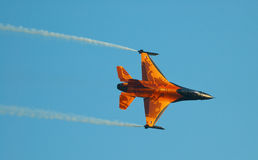F-16 olandese dell'aeronautica - Radom Airshow - Polonia Fotografia Stock