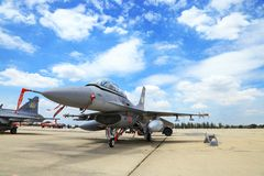 F-16 of Royal Thai air force Royalty Free Stock Photos