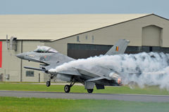 F-16 TARGET982_1_ Facon Zdjęcia Royalty Free