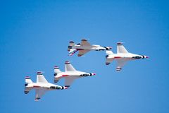 F-16 Thunderbirds Stock Images