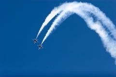 F-16 Thunderbirds flying Royalty Free Stock Photos