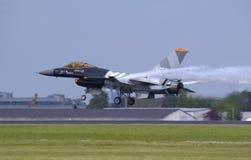 F-16 Valk stock afbeelding