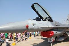 F-16 vechter Royalty-vrije Stock Fotografie