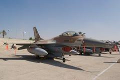 F-16 vechtersstraal Royalty-vrije Stock Afbeelding