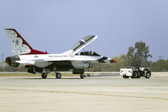 A F-16C Fighting Falcons, Royalty Free Stock Image