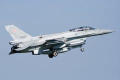 F-16D Viper jet royalty free stock image