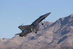 F-18 Fighter Jet Stock Image