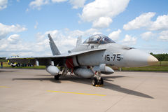 F-18 Hornet jet Stock Photos