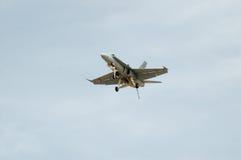 F/A-18 Hornet Landing Stock Photo