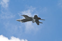 F-18 invertido Imagen de archivo