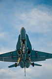 F-18 Super Hornet royalty free stock images