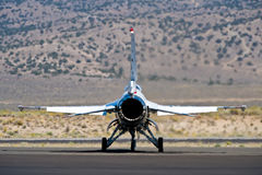 F-18 Thunderbird images stock