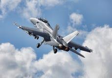 F/A-18E super Horzel Stock Afbeeldingen