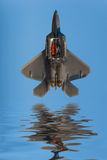 F-22 Raptor fighter jet Stock Images