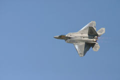 F-22 Raptor Flyby Royalty Free Stock Image