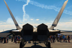F-22 Raptor Jet royalty free stock photography