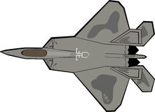 F-22 Raptor Plane Royalty Free Stock Photo