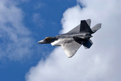 F-22 Raptor of the USAF. USAF F-22 Raptor at the Royal International Air Tattoo July 18, 2010 in Fairford, United Kingdom Stock Photography