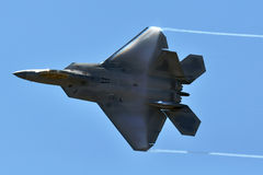 F-22 roofvogel Royalty-vrije Stock Foto