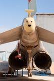 F-4 Phantom tail Stock Photos