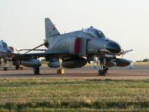 f 4 powietrza fantom tureckie siły Zdjęcie Stock