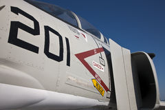F-4 spoor Royalty-vrije Stock Fotografie