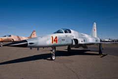 F-5 Aggressor. Of NAVY VFC-13 Squadron Royalty Free Stock Images
