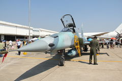F-5E de vechter van de tijger Stock Foto's