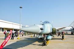 F-5E Militär-Kampfflugzeug lizenzfreies stockbild