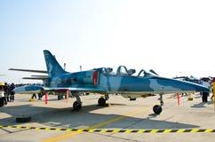 F-5E Militär-Kampfflugzeug stockbilder