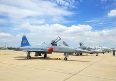 F-5E wurde im Cerebration von 100 Jahr gezeigt Lizenzfreies Stockfoto
