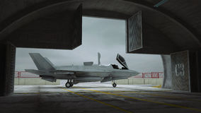 F 35 , american military fighter plane. Stock Photography