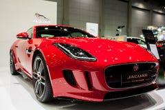 F-artiges Coupé Jaguars Lizenzfreies Stockbild