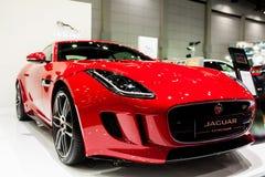 F-artiges Coupé Jaguars Lizenzfreie Stockfotos