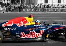 F1 auf dem Boulevard stockbild