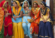 färgrika india Arkivfoto